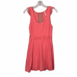 Free People Sz Xs Coral Fit & Flare